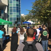 A moment of silence at USFSP