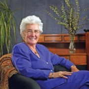 Kate Tiedemann, a retired entrepreneur who gave $10 million to USF St. Petersburg for its Kate Tiedemann College of Business.