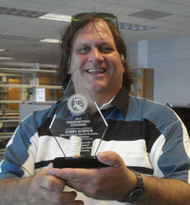 USF St. Petersburg faculty librarian receives Presidential Citation from Florida Historical Society.