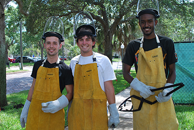 USF St. Petersburg students and alumni make up the USF Fire Ant Research Team