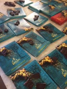 USFSP students sampled a number of chocolates at Patisserie Christian in Strasbourg, France.