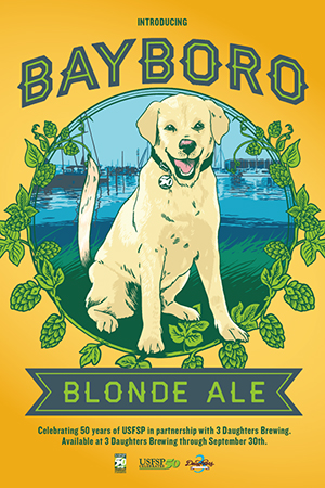 USFSP Bayboro Blonde Ale artwork