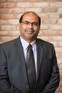 A photo of Sridhar Sundaram, dean of the Kate Tiedemann College of Business at USF St. Petersburg
