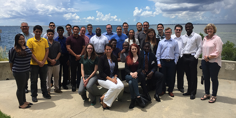 A photo of the participants in the Summer 2016 Exploratory Labs Boot Camp. Photo by Pat Gehant.