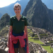 A photo of USFSP Professor of Entrepreneurship Dr. Karin Braunsberger in Guatemala