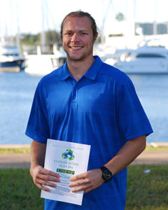 A photo of Brian Pullen, sustainability coordinator at USFSP.