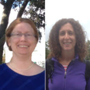 A photo of Drs. Christina Salnaitis and Rebecca Harris