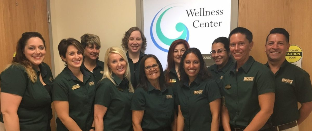 USFSP Wellness Center staff