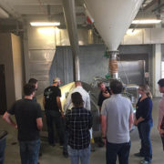 Students in the USFSP Brewing Arts Program take a behind the scenes tour of Yuengling brewery.