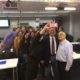 Mayor Kriseman takes a selfie with faculty and students of a USFSP political science class.