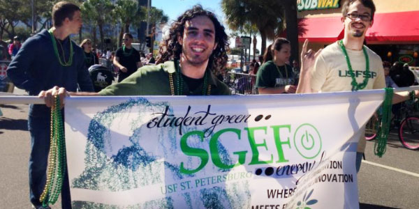 SGEF for student green campaign