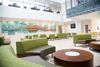 Interior of College of Business