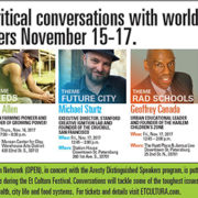Keynote speakers at this year's Open Partnership Education Network conversations at Et Cultura festival.