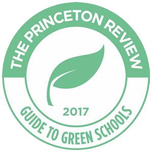 Princeton Review guide to green schools 2017