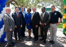 press conference group photo to include SPC and USFSP and state officials