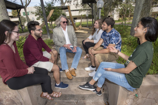 The University initiated small group excursions between faculty and students to connect them with their interests as they start to explore majors.