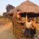 USFSP alum and Peace Corps volunteer Brandi Murphy during her more than two years in Zambia.