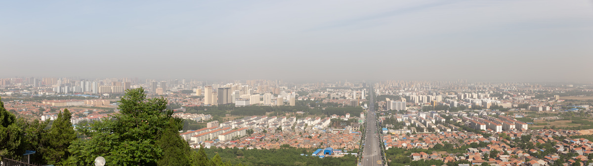 A view of the city of Changzhi.