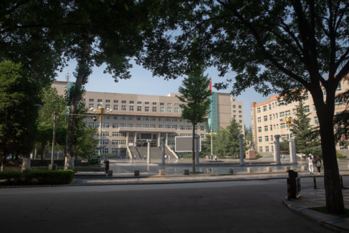 Thinker's Square at Changzhi University.