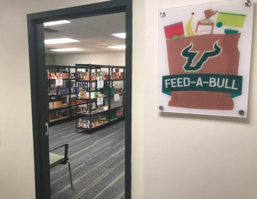 Feed-A-Bull, the USF Tampa food pantry, has distributed more than 24,000 pounds of food to students in need.