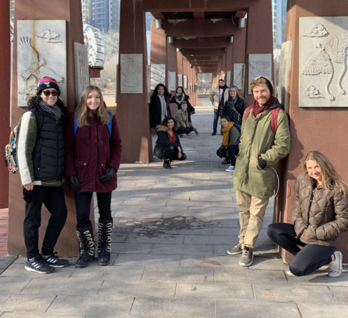 USFSP students spent two weeks in China this winter break visiting world renowned cultural destinations, taking classes and connecting with fellow Chinese students.
