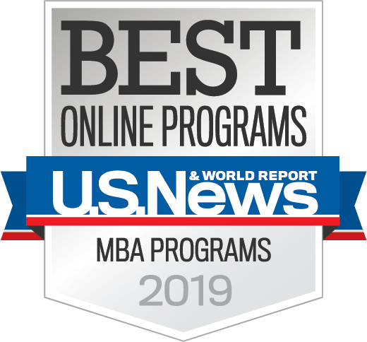 US news 2019 MBA badge
