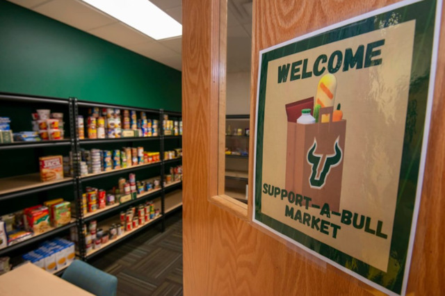 The pantry, which has transitioned to online ordering to promote social distancing, provides food such as pasta and breads to fruits and vegetables.