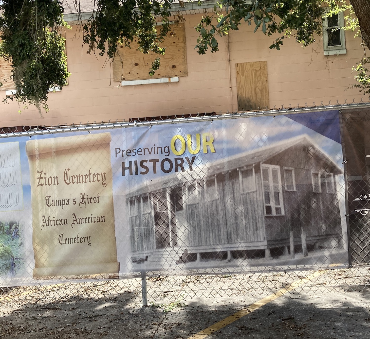 The project's focus will initially center on Zion Cemetery, one of the first African American cemeteries in Tampa Bay, located beneath roads, warehouses and a public housing complex just north of downtown Tampa, and St. Petersburg's Oaklawn Cemetery complex, which consists of three cemeteries that lie under parking lots at Tropicana Field.