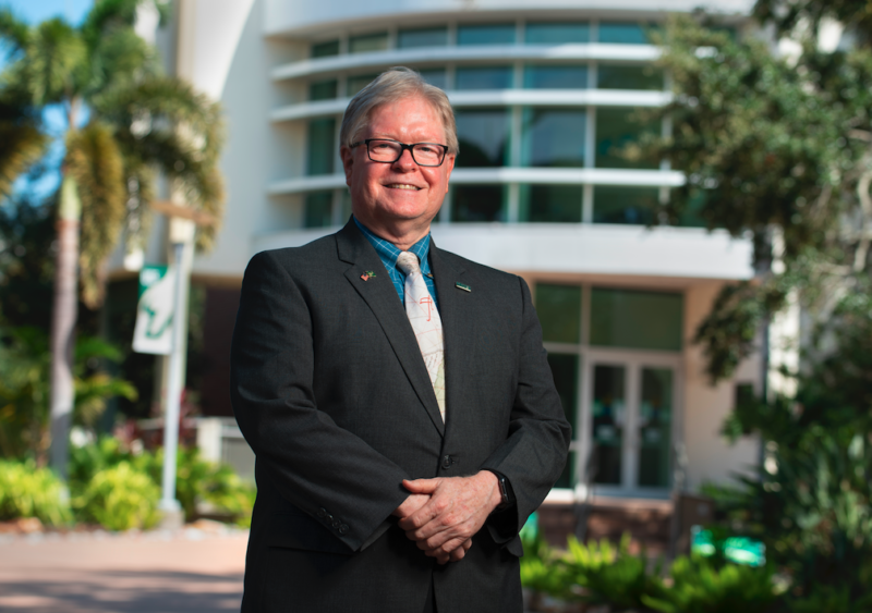 Regional Chancellor Martin Tadlock was unanimously chosen for the President's Award, the highest honor NASPA bestows on a college or university president or chancellor.
